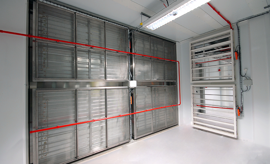 Vesda system operating inside Data Center